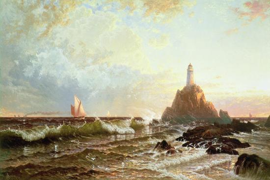 alfred-thompson-bricher-the-lighthouse