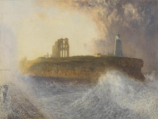 alfred-william-hunt-tynemouth-pier-north-east-wind-1866-w-c