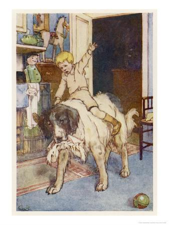 alice-b-woodward-peter-pan-michael-rides-on-the-back-of-the-dog-nana