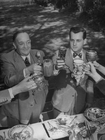 allan-grant-francis-e-fowler-showing-his-cup-collection