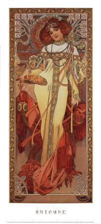alphonse-mucha-automne-1900