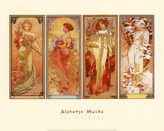 alphonse-mucha-les-saisons-1900