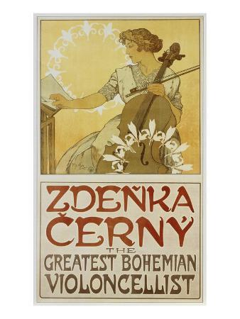 alphonse-mucha-plakat-zdenka-cerny-the-greatest-bohemian-violoncellist