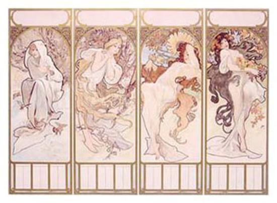 alphonse-mucha-seasons-winter-panel-1897