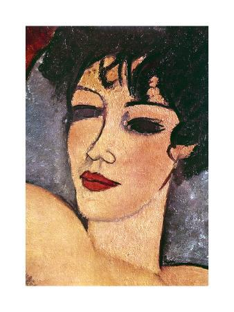 amadeo-modigliani-detail-of-a-sleeping-nude-c1917