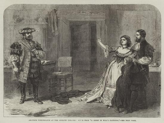amateur-performance-at-the-adelphi-theatre-scene-from-a-sheep-in-wolf-s-clothing