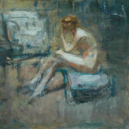 ambrose-mcevoy-seated-nude-c-1920