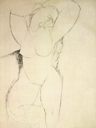 amedeo-modigliani-caryatid-c-1913-14-pen-and-ink-on-paper
