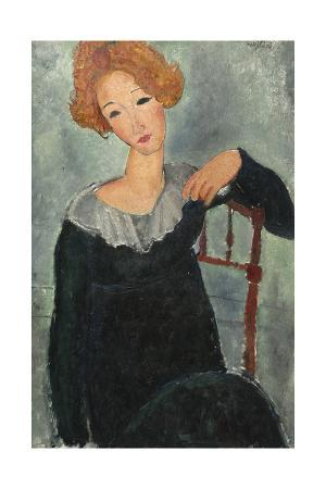 amedeo-modigliani-woman-with-red-hair-1917