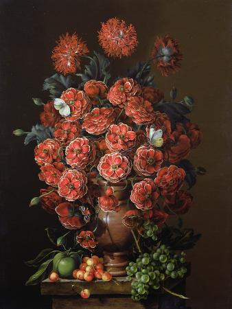 amelia-kleiser-poppies-in-a-terracotta-vase-2000