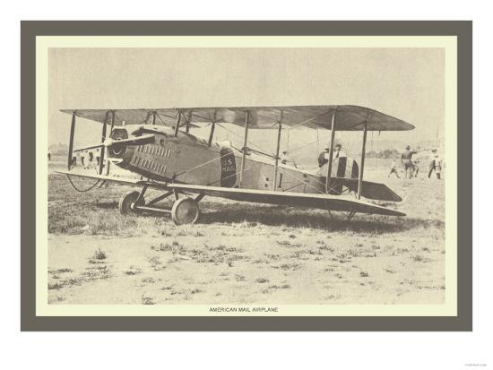 american-mail-airplane