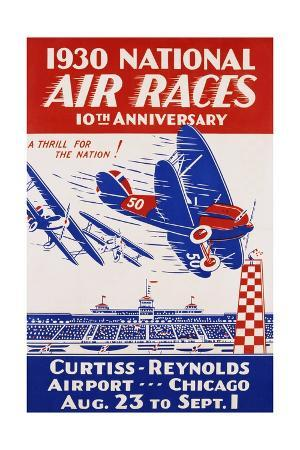 american-poster-for-1930-national-air-races