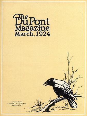 american-school-international-crow-shooting-contest-front-cover-of-the-dupont-magazine-march-1924