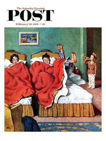 amos-sewell-parents-reveille-saturday-evening-post-cover-february-20-1954