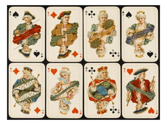 an-assortment-of-playing-cards-kings-queens-and-knaves