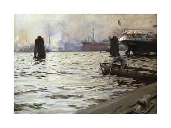 anders-zorn-hamburg-harbour
