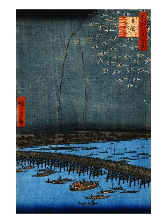 ando-hiroshige-fireworks-at-ryogoku