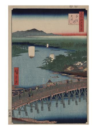 ando-hiroshige-great-bridge-at-senju