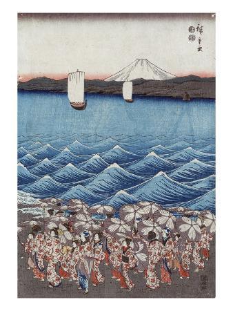 ando-hiroshige-opening-celebration-of-benzaiten-shrine-at-enoshima