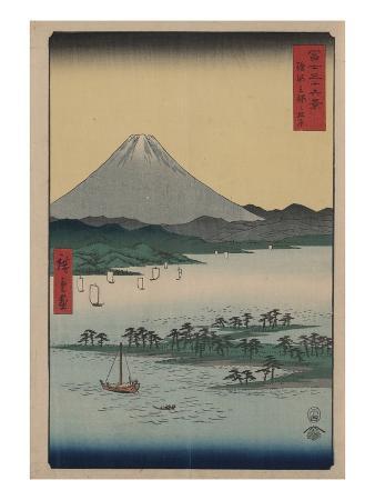 ando-hiroshige-pine-beach-at-miho-in-suruga