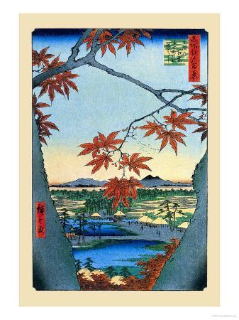 ando-hiroshige-the-maple-trees