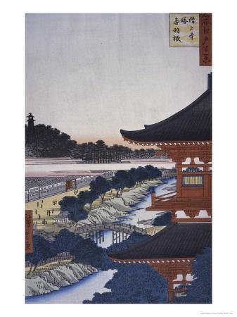 ando-hiroshige-view-of-the-woods-19th-century