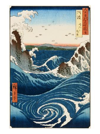 ando-hiroshige-whirlpool-and-waves-at-naruto-awa-province