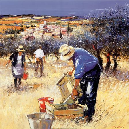 andre-deymonaz-la-cueillette-des-olives