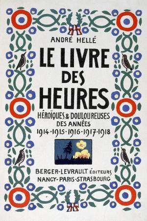 andre-helle-frontpage-of-le-livre-des-heures-1919