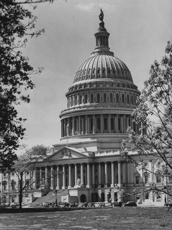 andreas-feininger-us-capitol-building