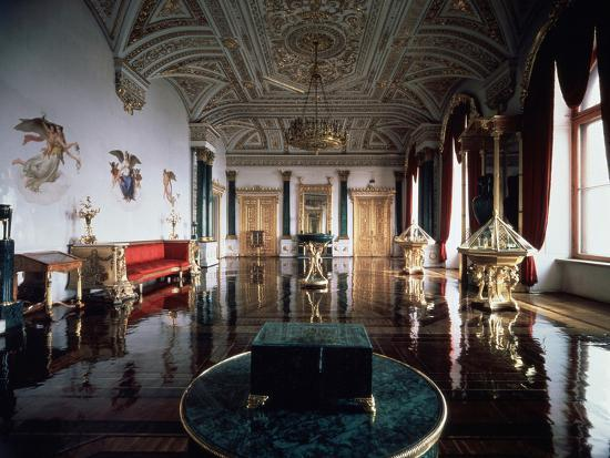 andrei-ivanovich-stakenschneider-the-malachite-hall-of-the-winter-palace-1837-1839
