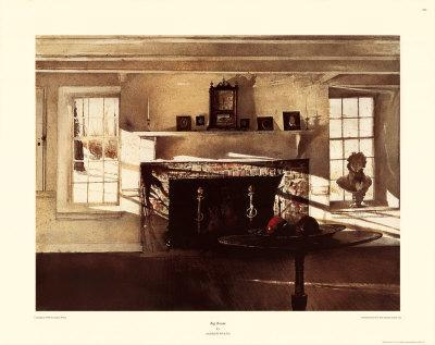 big room art print by andrew wyeth at. Black Bedroom Furniture Sets. Home Design Ideas