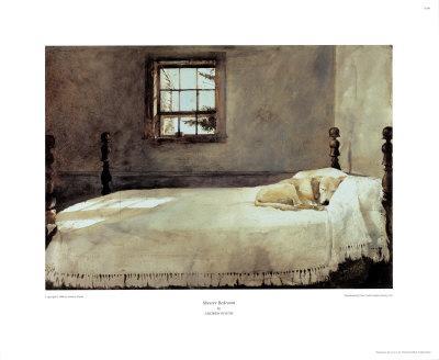 Master Bedroom Framed Art Print By Andrew Wyeth At Art Com