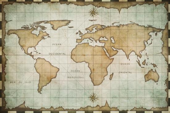 andrey-kuzmin-aged-old-world-map