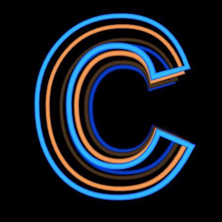 andriy-zholudyev-glowing-letter-c-isolated-on-black-background