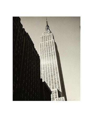 empire state building art print by andy warhol at. Black Bedroom Furniture Sets. Home Design Ideas