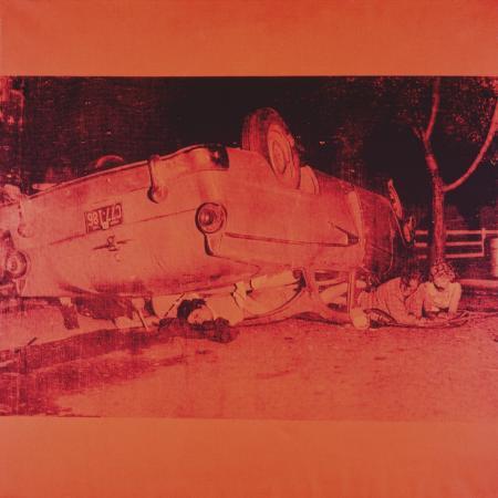 andy-warhol-five-deaths-on-orange-orange-disaster-c-1963-orange-car
