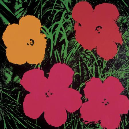 andy-warhol-flowers-1964-red-pink-and-yellow