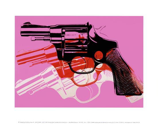 andy-warhol-gun-c-1981-82