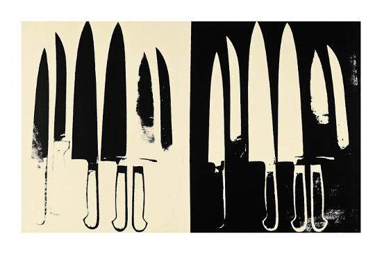 andy-warhol-knives-c-1981-82-cream-and-black