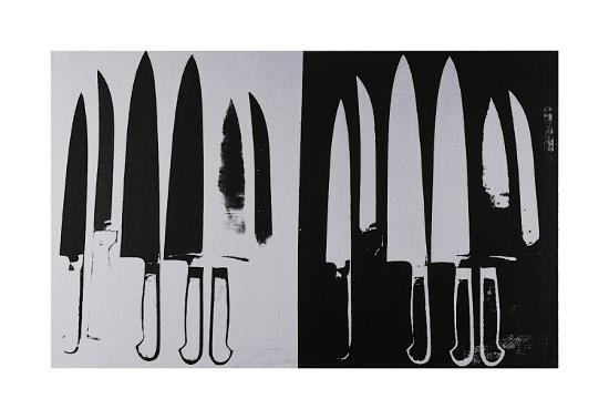 andy-warhol-knives-c-1981-82-silver-and-black