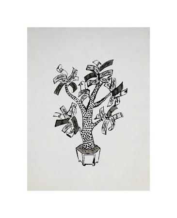 andy-warhol-money-tree-c-1957