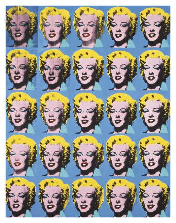 andy-warhol-twenty-five-colored-marilyns-1962