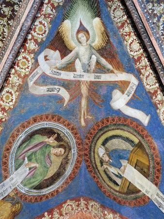 angel-and-medallions-depicting-evangelists-ceiling-fresco-of-san-giacomo