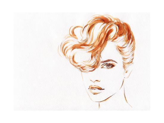 anna-ismagilova-beautiful-woman-face-watercolor-illustration