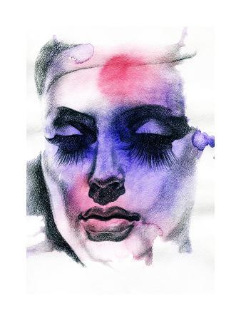 anna-ismagilova-beautiful-woman-hand-painted-fashion-illustration