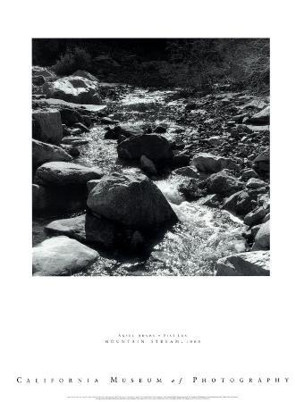ansel-adams-mountain-stream