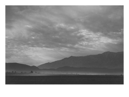 ansel-adams-view-sw-over-manzanar-dust-storm