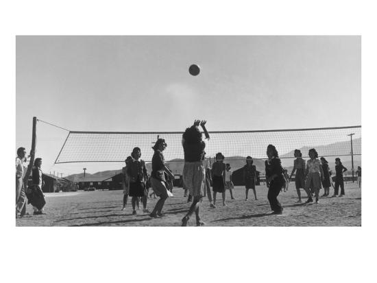 ansel-adams-volley-ball-game