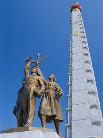 anthony-waltham-tower-of-juche-ideal-exhorting-the-non-dependance-on-others-pyongyang-north-korea-asia